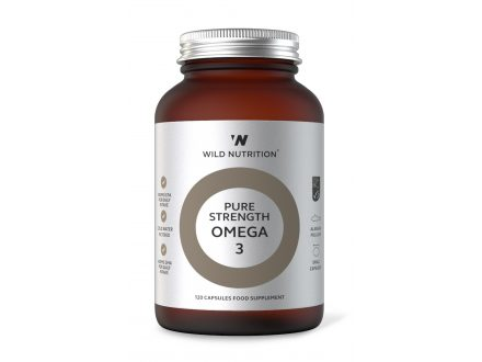 Pure Strength Omega 3 - Wild Nutrition